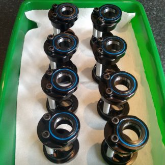 ebb eccentric bottom bracket rideworks uk made bottom brackets
