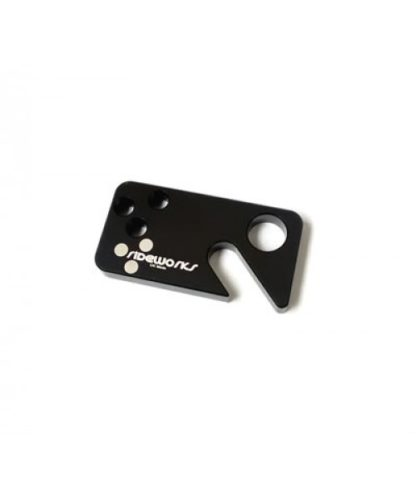 mtb bottle opener rideworks beer key ring